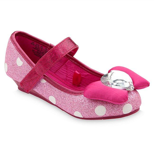 Chaussures de déguisement Minnie Mouse jaunes pour enfants, Disney Store