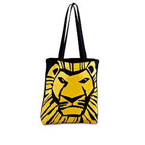 The Lion King Musical Collection Canvas Tote Bag - Lion Gifts