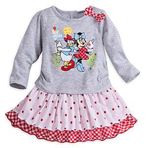 Ensemble robe et culotte pour bébé Minnie