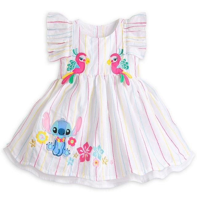 Ensemble robe et culotte Stitch pour bébé