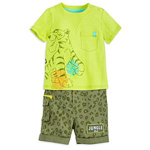 The Jungle Book Baby Top and Shorts Set -  18-24 Months - Book Gifts