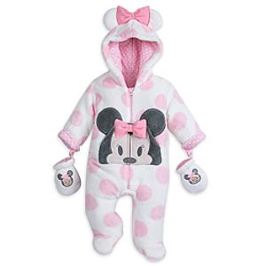 Minnie Mouse Baby Snugglesuit -  0-3 Months - Minnie Mouse Gifts