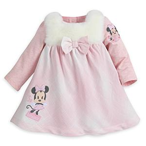 Minnie Mouse Baby Dress and Body Suit Set -  Newborn - Newborn Baby Gifts