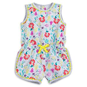 The Little Mermaid Baby Romper -  18-24 Months - Little Mermaid Gifts