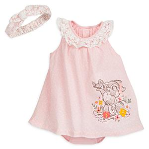 Miss Bunny Baby Romper Dress Set -  Newborn - Newborn Baby Gifts