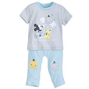 Mickey Mouse Baby Pyjamas -  Newborn - Newborn Baby Gifts