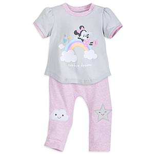 Minnie Mouse Baby Pyjamas -  9-12 Months - Pyjamas Gifts