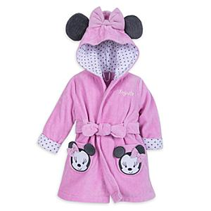 Minnie Mouse Baby Bath Robe -  Newborn - Newborn Baby Gifts