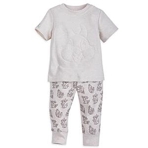 Thumper Baby Short-Sleeved Top and Bottoms Set -  Newborn - Newborn Baby Gifts