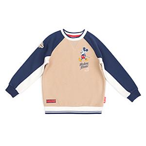 Disney Store Mickey Mouse Stone Sweatshirt For Toddlers&Kids