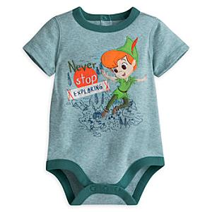 Peter Pan Baby Body Suit -  18-24 Months - Peter Pan Gifts