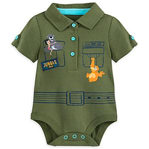 The Jungle Book Baby Body Suit -  12-18 Months - Book Gifts