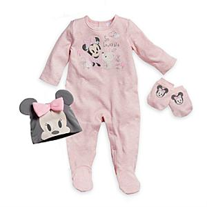 Minnie Mouse Welcome Home Baby Gift Set -  Newborn - Newborn Baby Gifts