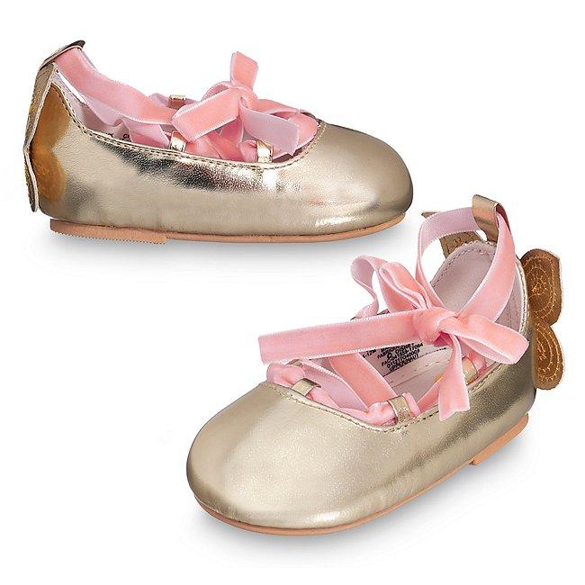 Chaussures de fête Fée Clochette pour bébé