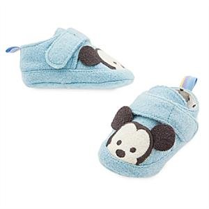 Mickey Mouse Baby Slippers -  6-12 Months - Slippers Gifts