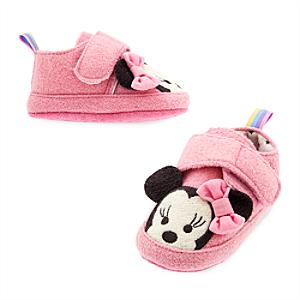 Minnie Mouse Baby Slippers -  12-18 Months - Slippers Gifts