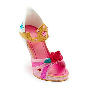 Disney Parks Aurora Miniature Shoe Ornament, Sleeping Beauty - Ornament Gifts