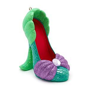 Disney Parks Ariel Miniature Shoe Ornament, The Little Mermaid - Ornament Gifts