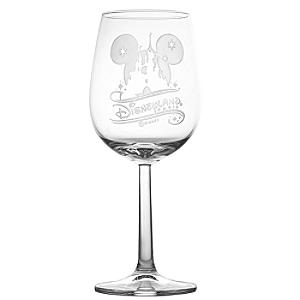Arribas Glass Collection, Disneyland Paris Castle Wine Glass - Wine Glass Gifts