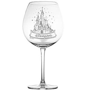 Arribas Glass Collection, Disneyland Paris Castle Extra Large Wine Glass - Wine Glass Gifts