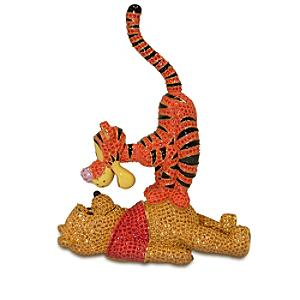 Arribas Jewelled Collection, Winnie The Pooh And Tigger Large Limited Edition Figurine - Tigger Gifts