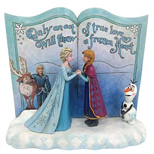Disney Traditions Frozen Storybook Figurine