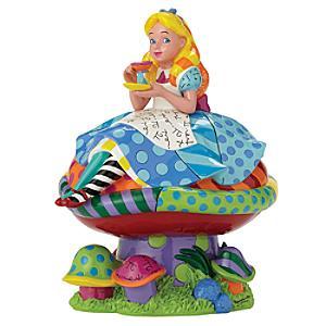 Britto Alice In Wonderland Figurine - Alice In Wonderland Gifts