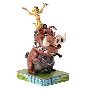 Disney Traditions Timon and Pumbaa Figurine