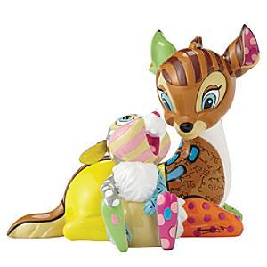 Britto Bambi and Thumper Figurine - Figurine Gifts