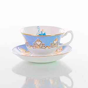 English Ladies Co. Bone China Cinderella Tea Cup and Saucer - China Gifts
