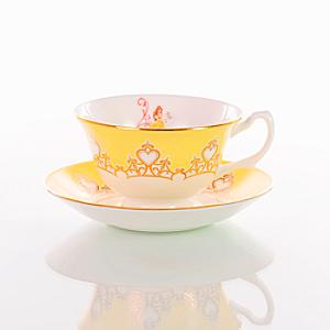 English Ladies Co. Bone China Belle Tea Cup and Saucer - China Gifts
