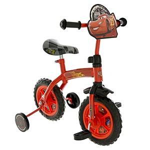 Disney Pixar Cars 2-in-1 10'' Training Bike