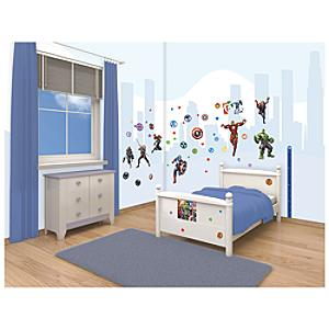 The Avengers 66 Piece Room Decor Kit - Decor Gifts