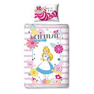 Alice in Wonderland Single Duvet Cover Set