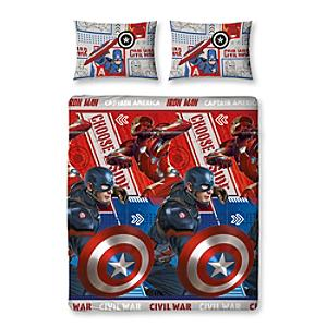 Captain America: Civil War Double Rotary Duvet Cover Set