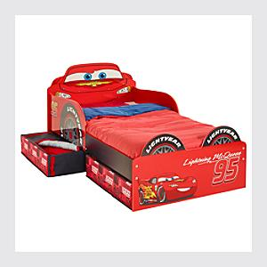 McQueen Toddler Bed With Storage, Disney Pixar Cars - Toddler Gifts