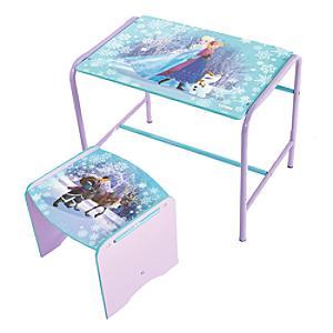 Frozen Desk and Stool Set
