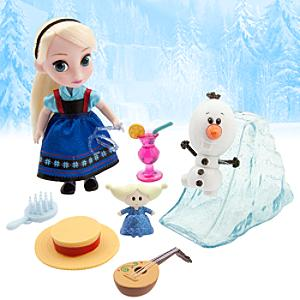 Animators Collection - Elsa Spielset mit Mini-Puppe