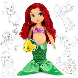 Den lilla sjöjungfrun docka