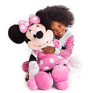 Stort Minnie Mouse plysdyr
