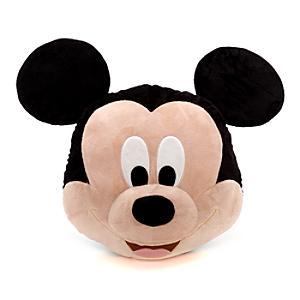 Gros coussin du visage de Mickey