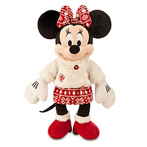 Minnie Mouse Winter Medium Soft Toy - Soft Toy Gifts
