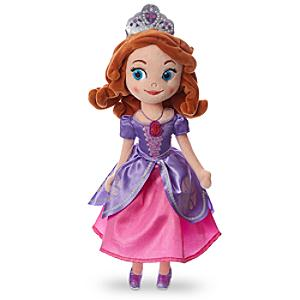 Sofia The First Small Soft Toy - Sofia The First Gifts