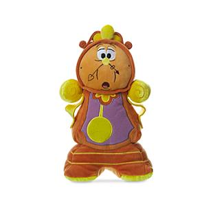 Cogsworth Small Soft Toy, Beauty And The Beast - Toy Gifts