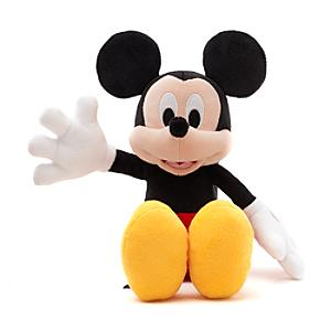 Disney Store Mickey Mouse Small Soft Toy