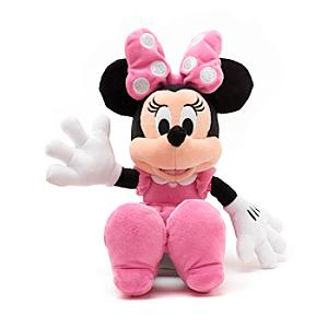 Minnie Mouse Small Pink Soft Toy - Minnie Mouse Gifts