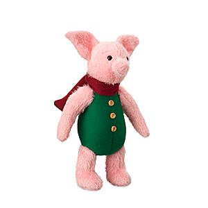 Disney Store Piglet Small Soft Toy, Christopher Robin