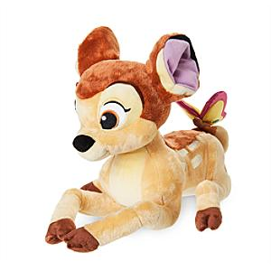 Bambi with Butterfly Medium Soft Toy - Butterfly Gifts