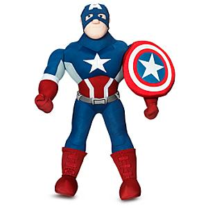 Captain America Medium Soft Toy - Marvel Gifts