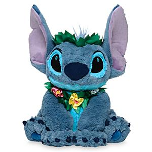 Stitch Hawaiian Medium Soft Toy - Hawaiian Gifts